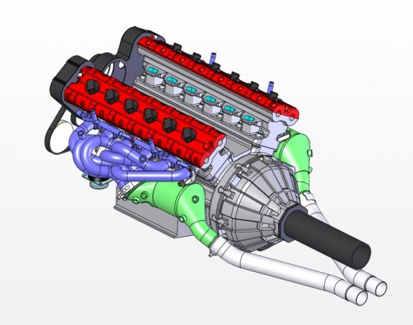 6-1 headers system catalyzed version