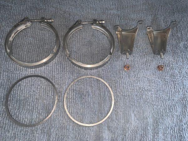 """Sistema di scarico con collettori 6-1 versione """"corsa"""""""