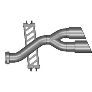 Set di tubi diretti posteriori